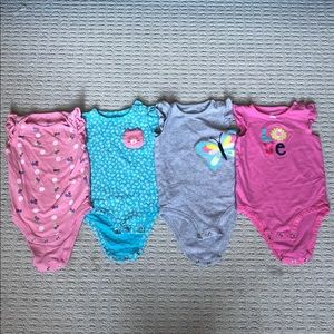 Baby Girl Onesies (24 months)